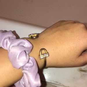 J. Crew Jewelry - Adjustable horse shoe bracelet